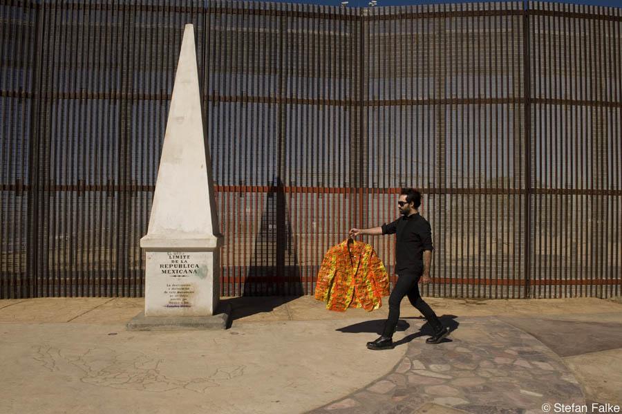 Artist Pablo Llana in Playas de Tijuana