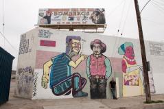 Artist Alonso Delgadillo in Tijuana © Stefan Falke www.stefanfalke.com