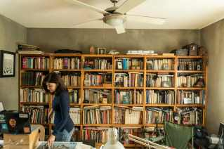 Photographer Odette Barajas (with her husband, Mario Macalpin) house and studio in Mexicali, Baja California, Mexico. Photo © Stefan Falke / www.stefanfalke.com
