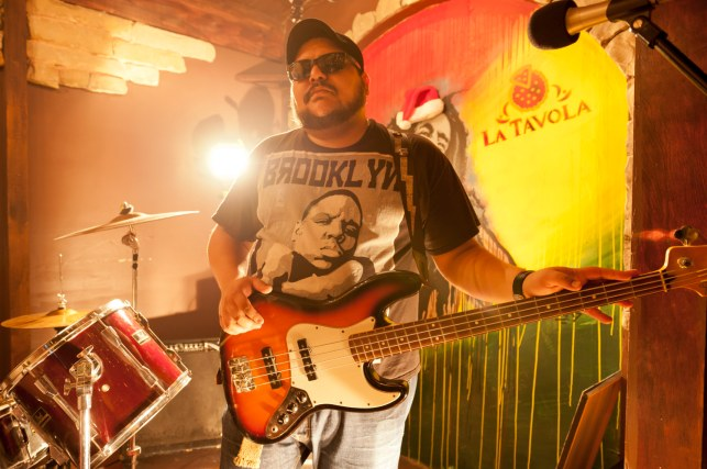 Musician Christian Mueller leads the Punk Rock band Los Whats, here in Reynosa, Mexico. Mueller lives across the border in McAllen, Texas.