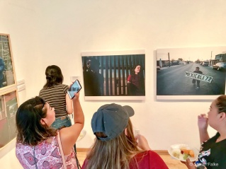 Calexico, La Frontera Exhibition at SDSU Imperial Valley gallery. Photos © Stefan Falke 917-2149029 www.stefanfalke.com stefanfalke@mac.com Borderartists.com Publication only with permission.