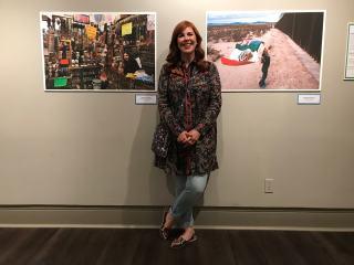 LA FRONTERA: Artists along the US-Mexico Border exhibition at UTEP Centennial Museum in El Paso, April - July 2019. Photo: Stefan Falke / www.stefanfalke.com