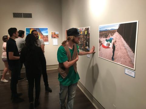 LA FRONTERA: Artists along the US-Mexico Border exhibition at UTEP Centennial Museum in El Paso, April - July 2019. Photo: Stefan Falke / www.stefanfalke.com